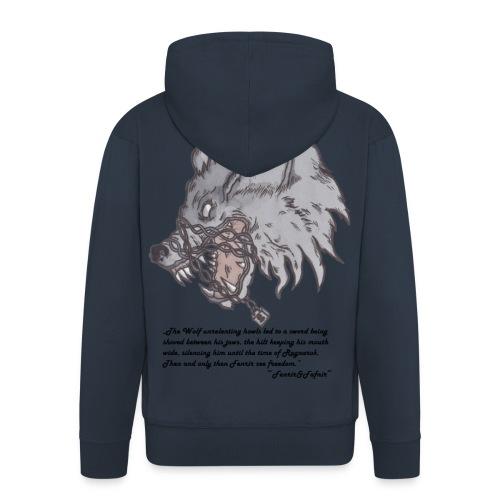 Fenrir Wolf - Männer Premium Kapuzenjacke