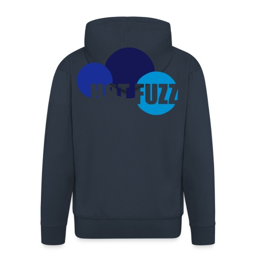 hotfuzzcircles - Men's Premium Hooded Jacket