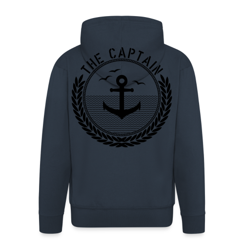 The Captain - Anchor - Männer Premium Kapuzenjacke