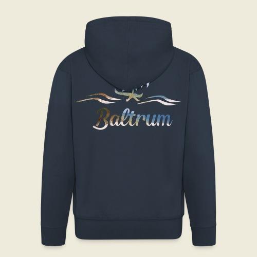 Baltrum Urlaub Nordsee Meer - Männer Premium Kapuzenjacke