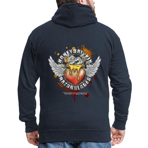 Honeydrippin' razorblades - Männer Premium Kapuzenjacke