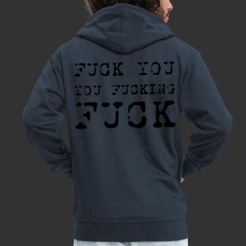 T-shirt, Fuck you... - Premium-Luvjacka herr