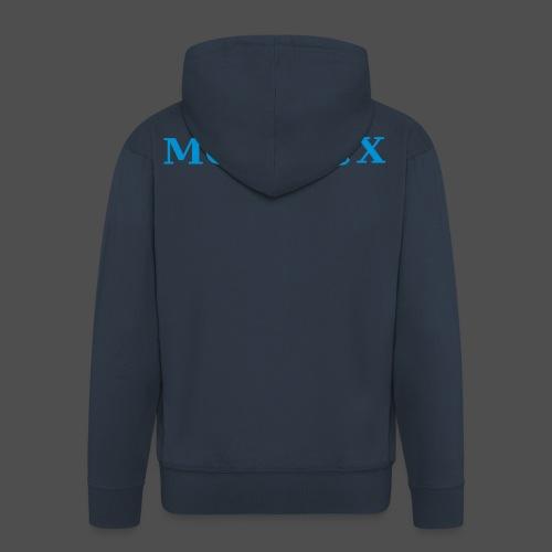moto x - Rozpinana bluza męska z kapturem Premium