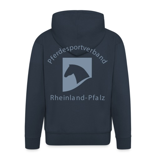 psv rp logo einfarbig - Männer Premium Kapuzenjacke