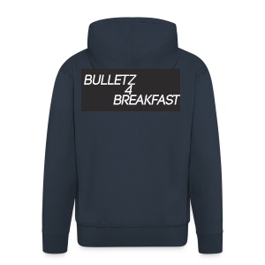 bulletz4breakfast_t-shirt - Men's Premium Hooded Jacket