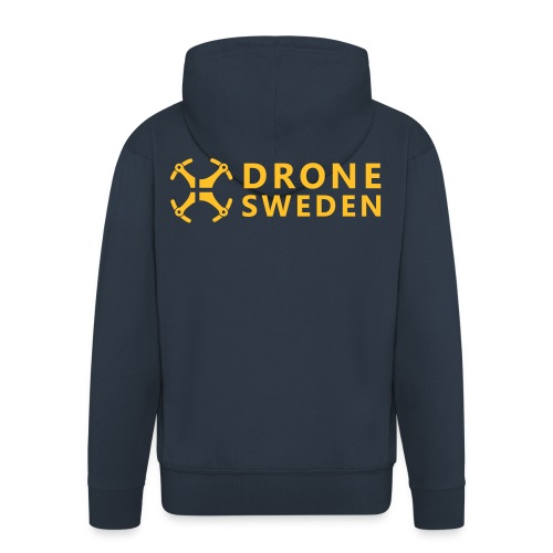 *Drone Sweden Logo - Premium-Luvjacka herr