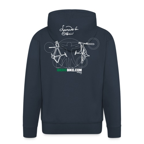 Leonardo Va Envici - Chaqueta con capucha premium hombre