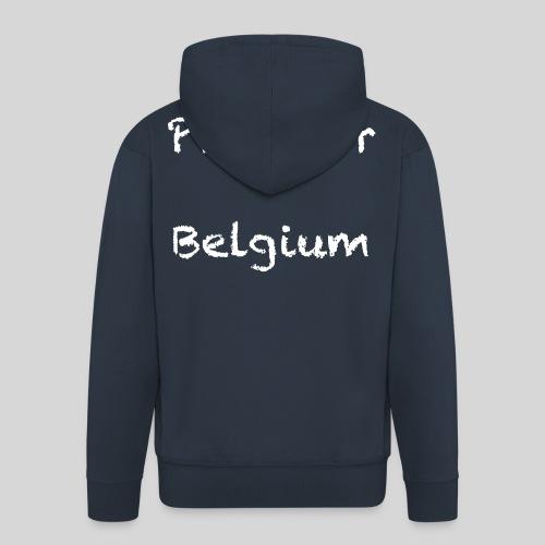 Pray for Belgium - Veste à capuche Premium Homme