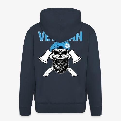 FN-veteran - Korslagda yxor - Premium-Luvjacka herr