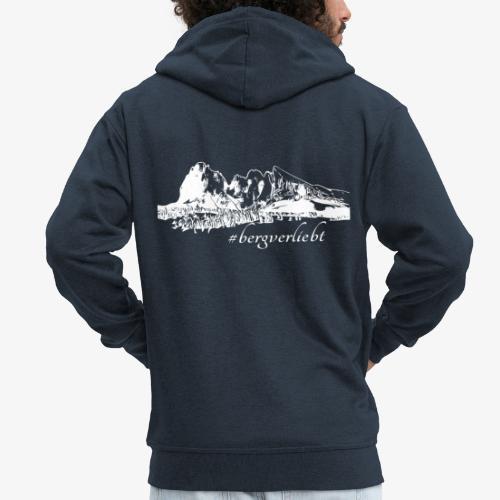 #Bergverliebt - Männer Premium Kapuzenjacke