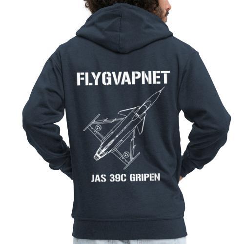FLYGVAPNET - JAS 39C - Premium-Luvjacka herr