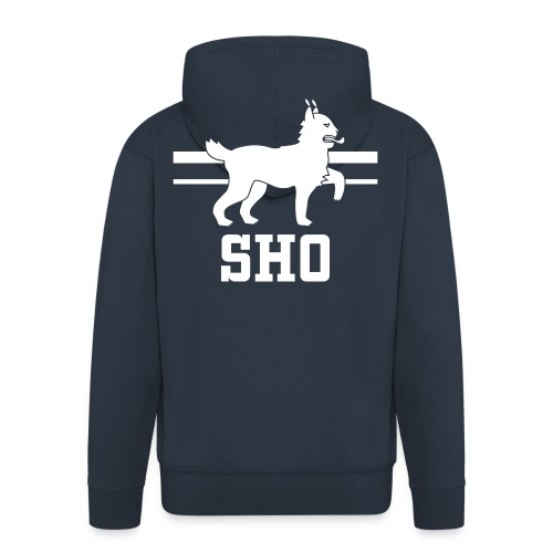 SHO Häme - Miesten premium vetoketjullinen huppari