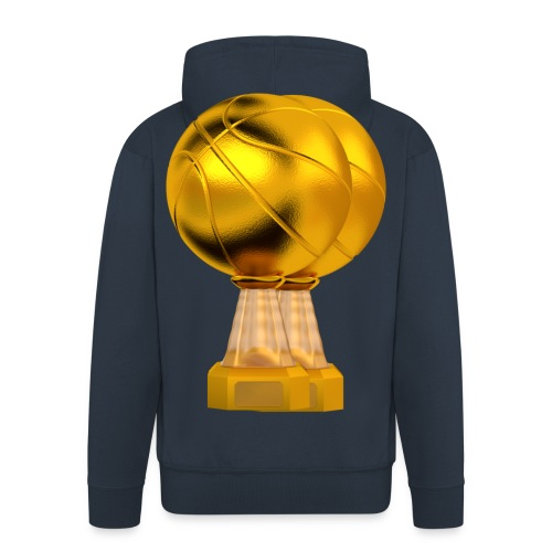 Basketball Golden Trophy - Veste à capuche Premium Homme