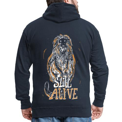 Still alive - Men's Premium Hooded Jacket