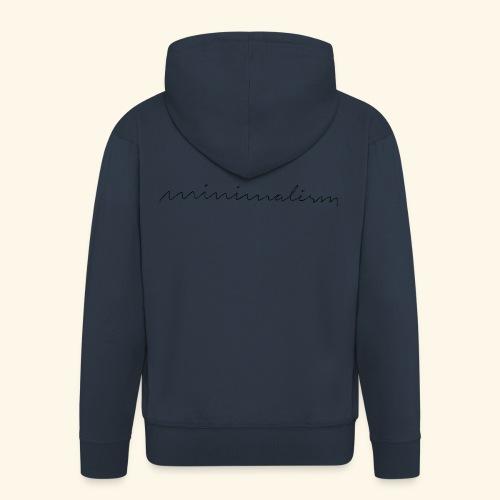 minimalism - Männer Premium Kapuzenjacke