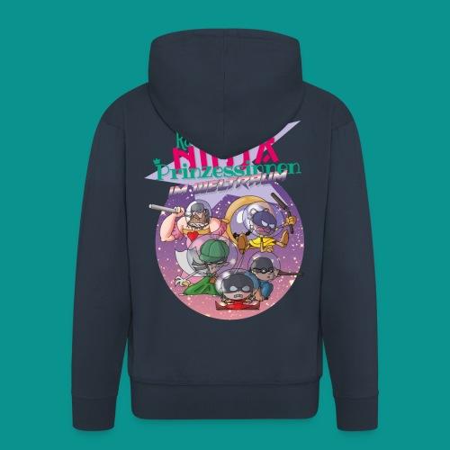 Ninja Prinzessinnen - Männer Premium Kapuzenjacke