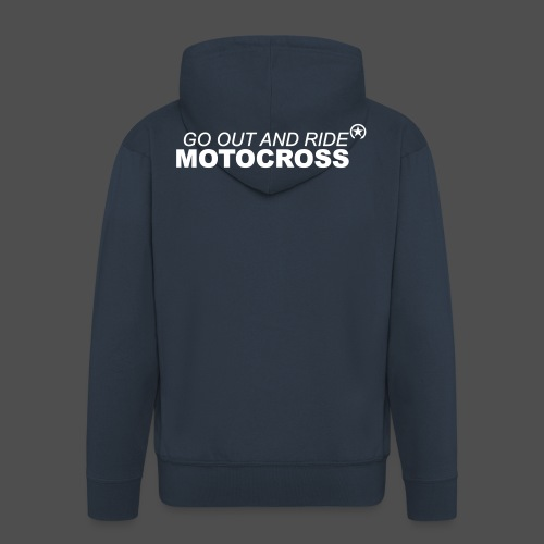 ride motocross bk - Männer Premium Kapuzenjacke