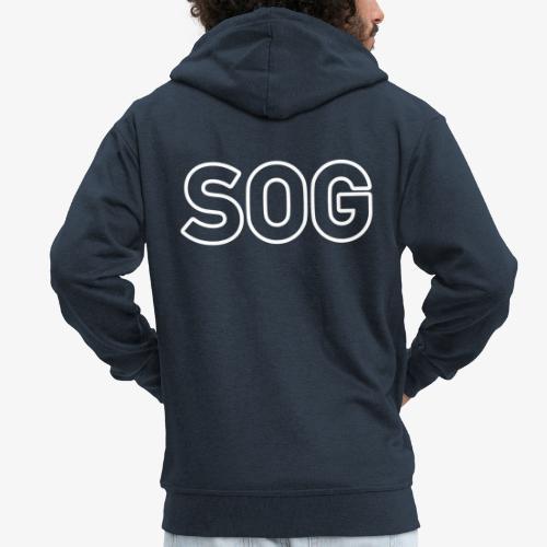 SOG_140%_Vektor_Outline_W - Männer Premium Kapuzenjacke