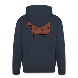 Brick Berd - Men's Premium Hooded Jacket