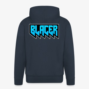Official logo of Blacer eSport organization - Men's Premium Hooded Jacket