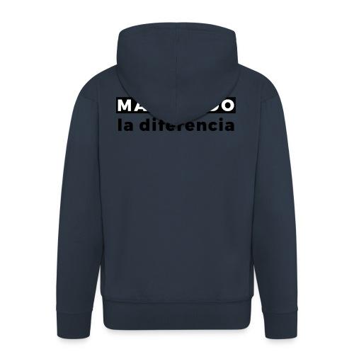 Marcando - Chaqueta con capucha premium hombre