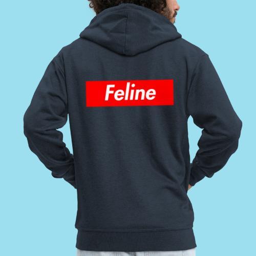 FELINE Supmeme - Männer Premium Kapuzenjacke