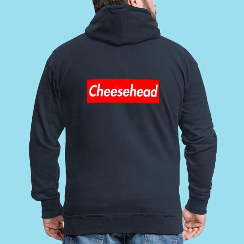CHEESEHEAD Supmeme - Männer Premium Kapuzenjacke