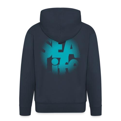 Sealife surfing tees, clothes and gifts FP24R01A - Miesten premium vetoketjullinen huppari