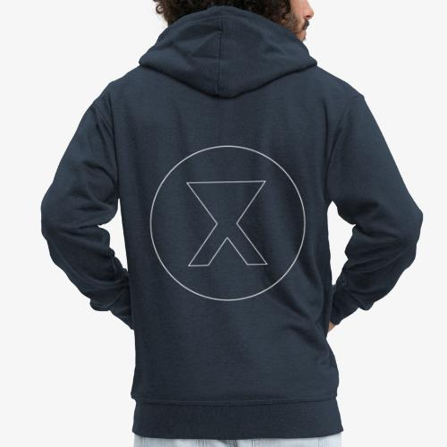 X skeleton - Veste à capuche Premium Homme