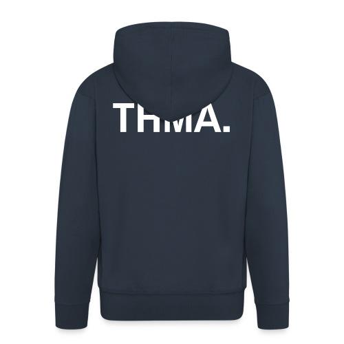 thma spreadshirt - Mannenjack Premium met capuchon