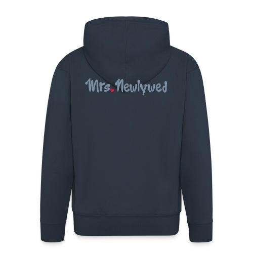 Mrs Newlywed - Men's Premium Hooded Jacket
