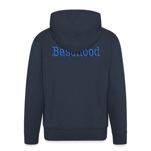 Basehood Basic Logo - Mannenjack Premium met capuchon