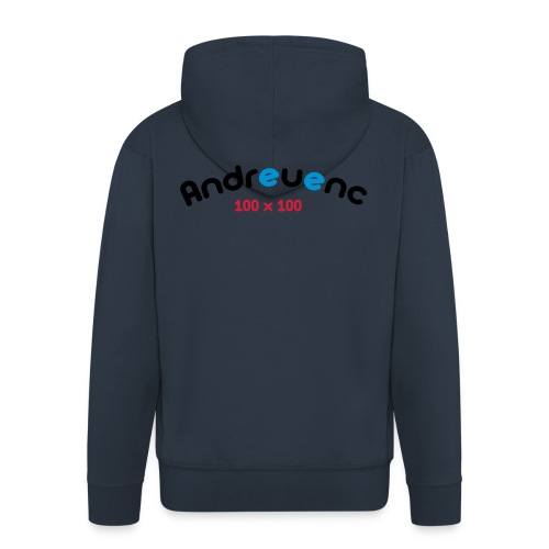 Andreuenc - Chaqueta con capucha premium hombre