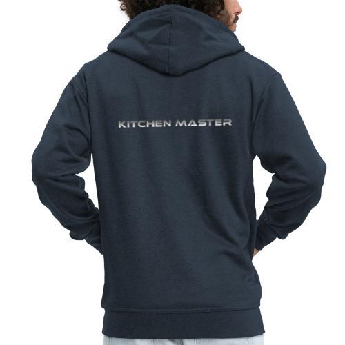 Kitchen Master - Miesten premium vetoketjullinen huppari
