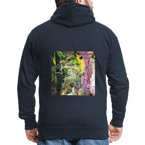 Abstract close up 2 - Men's Premium Hooded Jacket
