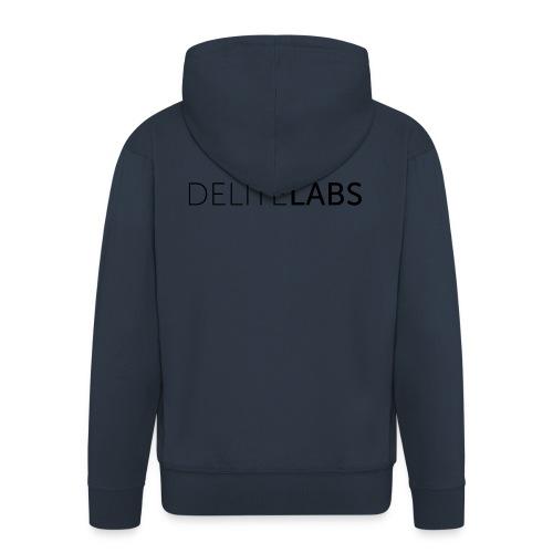DELITELABS t-shirt girls - Men's Premium Hooded Jacket