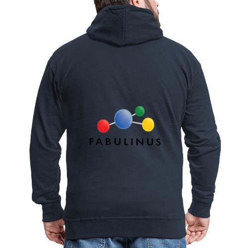 Fabulinus Zwart - Mannenjack Premium met capuchon
