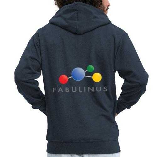 Fabulinus Grijs - Mannenjack Premium met capuchon