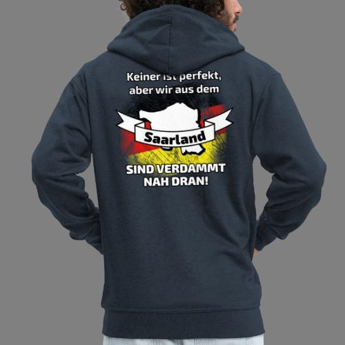 Perfekt Saarland - Männer Premium Kapuzenjacke