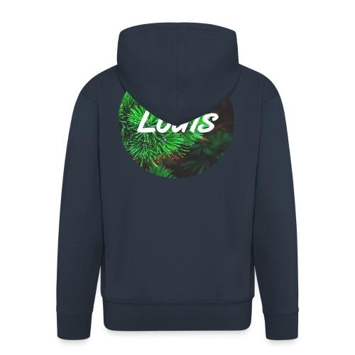 Louis round-logo - Männer Premium Kapuzenjacke