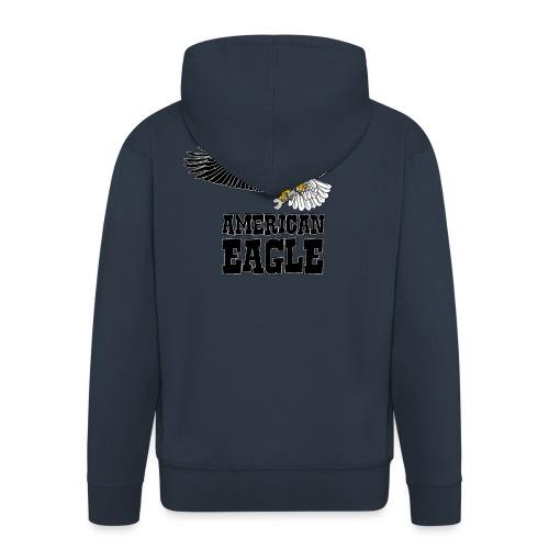 American eagle 2 - Mannenjack Premium met capuchon