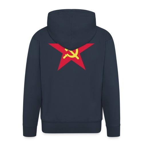 Russenstern - Männer Premium Kapuzenjacke