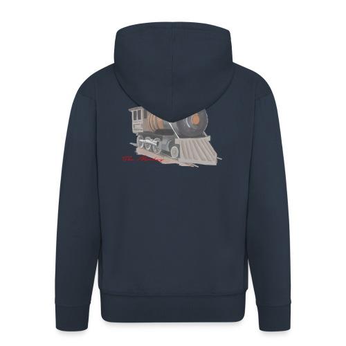 steam locomotive - Herre premium hættejakke