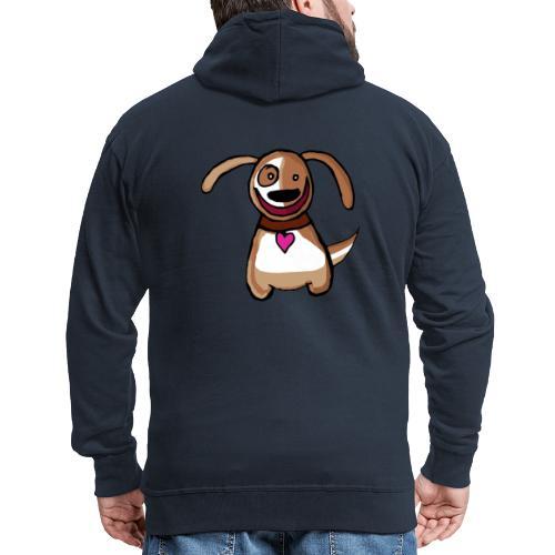 Titou le chien - Veste à capuche Premium Homme