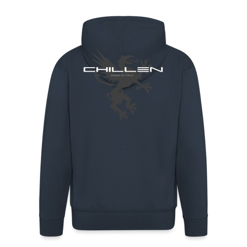 Chillen-tee - Men's Premium Hooded Jacket