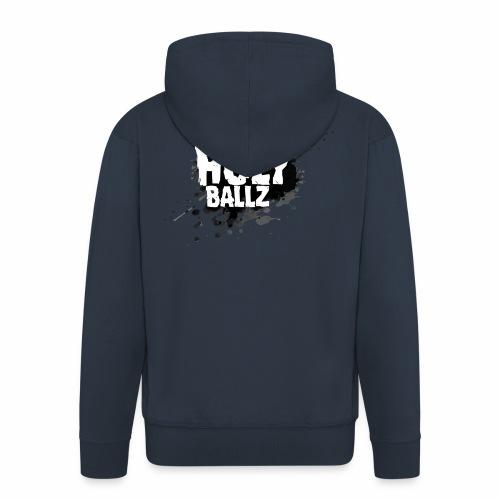 Holy Ballz - Men's Premium Hooded Jacket