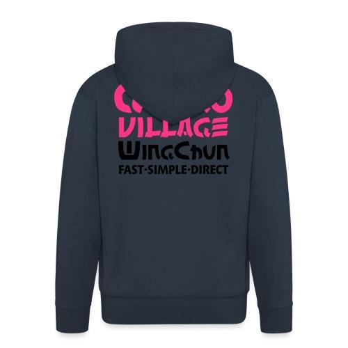 GulaoWingChun - Männer Premium Kapuzenjacke
