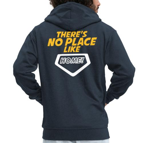 There´s no place like home - Men's Premium Hooded Jacket