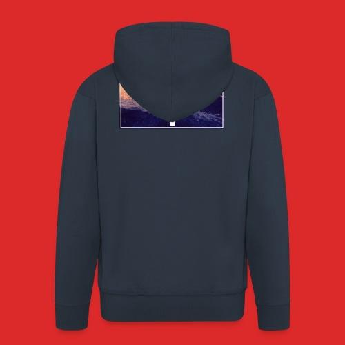 Männer Pullover & Hoodies - Männer Premium Kapuzenjacke