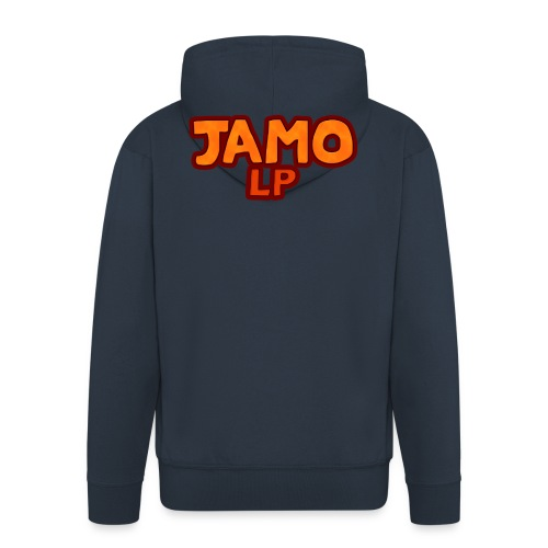 JAMOLP Logo T-shirt - Herre premium hættejakke